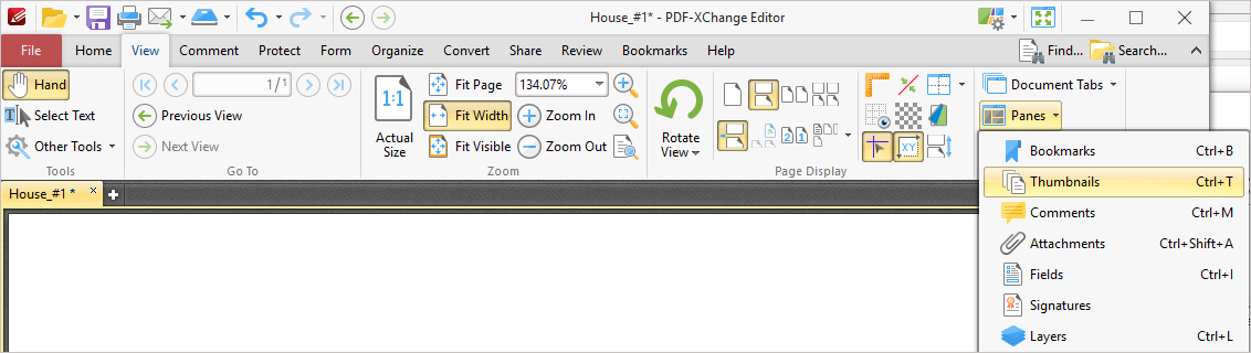 how to move pined files to left pane